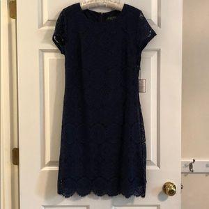 Laundry Navy Dress - 6